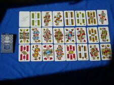 Vtg Deck PIATNIK #1760 DOPPELDEUTSCHE WILLIAM TELL DOUBLE GERMAN PLAYING CARDS