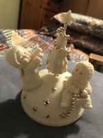 Department 56 Musical Snowbaby Figurine O Christmas Tree & Spins CH4372
