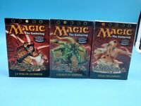 lot de 3 decks magic the gathering neuf en FR kamigawa / 1 ouvert 2 neuf