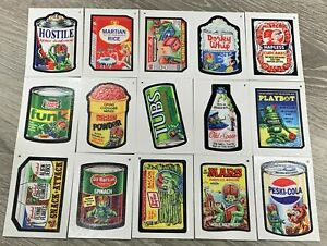 2020 Topps Demand Mars Attacks Packages Complete 3rd Series Sticker Set 15/15