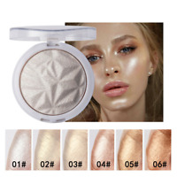 Highlighter Powder 6 Colors High Gloss Shimmer Powder Bronzer Cosmetic Makeup