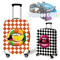 18-32 Inch Tongue Elastic Luggage Cover Travel Suitcase Dustproof Protector Bag