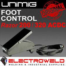 Unimig Welder Foot Control Razor 200 320 Acdc Tig Welding Pedal Arc Utjrfc 4