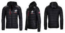 Geographical Norway Herren Winter Jacke Steppjacke Bomberjacke warm gesteppt Neu