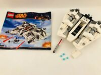 Lego Star Wars 75049 Snowspeeder & Instructions