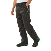 Craghoppers Mens Ascent Waterproof Trousers - Black Sports Outdoors Breathable