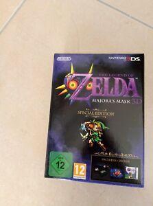 THE LEGEND OF ZELDA MAJORA'S MASK 3D LIMITED 3DS 3 DS SIGILLATO NUOVO ITALIANO