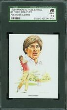 1990 IMPERIAL PUBLISHING # 5 FRED COUPLES SGC-10 SOLO FINEST GRADED .