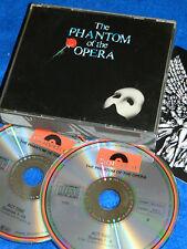 2 CD THE PHANTOM of OPERA 1987 germany POLYDOR andrew lloyd WEBBER charles HART