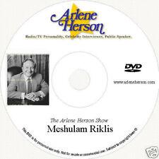 Meshulam Riklis  TV Interview  (30 Minutes)  DVD