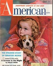 1953 American April-Cocker Spaniel;Ireland; Senator More; Bus Family Young