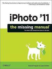 iPhoto '11: The Missing Manual, David Pogue, New Book