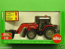 1:32 Siku Farmer 3653 Massey Ferguson 894 mit Frontlader Blitzversand DHL-Paket