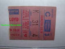 PINK FLOYD 1977 Concert Ticket Stub MADISON SQUARE GARDEN NYC Mega Rare ANIMALS