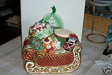 NIB Highly Collectible Avon St Nicholas Collection Ceramic COOKIE JAR Great GIFT