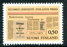 Finland Stamps Scott #506 Bicentenary of Finnish Press 1971 Mlh
