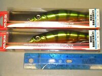 "Yo-zuri Mag Darter 5/"" Shallow Diving Striper Lure R1144-HRSN Brown Scale Lot 2"