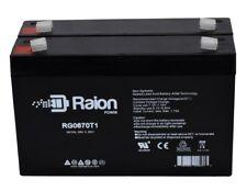 6V 7Ah SLA replacement battery for Kid Trax Avigo 6-Volt Mini Cooper  2pack