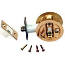 LE Johnson Brass Pocket Door Privacy Lock