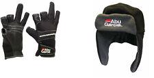 Abu Garcia Neoprene Gloves or Fleece Hat Sea Fishing Clothing Range