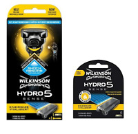 Wilkinson Sword HYDRO 5 SENSE Razor and/or Blades PROTECTS SKIN FROM IRRITATION