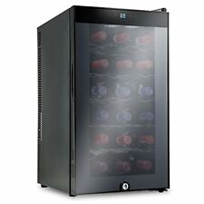 Ivation 18 Bottle Thermoelectric Red And White Wine Cooler/Chiller w/Lock