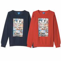 Adidas Originals Back to School Cuello Redondo los Hombres Suéter Jersey