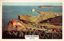 CANADA Quebec Postcard  Chrome Au Pic De L'AURORE Birdseye View 178