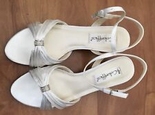 Coloriffics 5763 white satin 7.5 W andie WEDDING 1.5 in heels, in store for $103