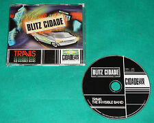 Travis - The invisible band BRAZIL ONLY PROMO CD 2001 Radio Cidade Queen