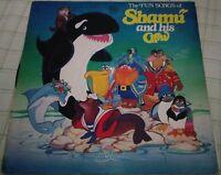THE FUN SONGS OF SHAMU AND HIS CREW VINTAGE RECORD ALBUM~SEA WORLD~1982/LP~RARE!