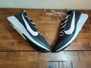 Nike Zoom Fly Flyknit Black Pink Foam Women's Running Shoes Size 11.5 AR4562-001