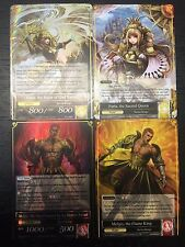 Force of Will TCG - 2x J-Ruler - Faria the Sacred Queen & Melgis the Flame King