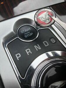 Jaguar XF XK XJ 2009-2014 Engine start stop button repair 3d sticker decal cover