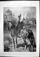 Antique Print Royal Bodyguard Russia Dry Dock Gibraltar Mappin & Webb 1905 20th