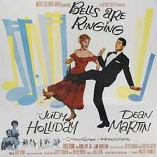 BELLS ARE RINGING Movie POSTER 30x30 Judy Holliday Dean Martin Fred Clark Eddie