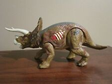 New ListingJurassic Park Iii Re-Ak A-Tak Triceratops Dinosaur Action Figure Brown Works