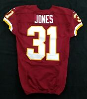 #31 Matt Jones of Washington Redskins NFL Game Issued Jersey