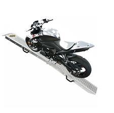 More details for bike ramp steel motorcycle van loading motorbike lawn mower heavy duty single