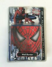 """Marvel Spiderman Wall Border Peel & Stick Removable Repositionable 5""""x15' NEW"""