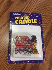 NIP CA Reed Choo Train BIRTHDAY PARTY CAKE CANDLE Vintage