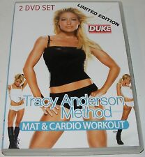 The Tracy Anderson Method : Mat & Cardio Workout---(Dvd 2 Disc Set)