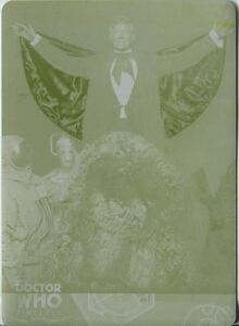 Doctor Who Timeless Yellow Printing Plate Card Base Card #9