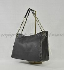 3de9fd681fb6b NWT Tory Burch Marion Black Leather Center Zip Tote   Shoulder Bag
