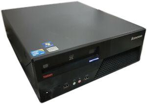 Lenovo Thinkcentre M58 7360 Desktop PC 2.93GHz CORE 2 Duo 4GB 250GB WIN 10 Pro