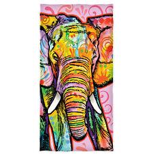 Dean Russo Elephant Cotton Beach Towel