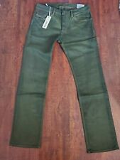 NWT: Diesel Safado Trouser Jeans - Green - Size 28 - MSRP $228 - 00C05A0J834