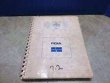 FIDIA CNC BASIC FUNCTIONS MDO477 MD0477 USER'S MANUAL COPY MILL