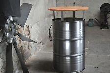 Stehtisch Bartisch Tresentisch 200 Liter Fass Ölfass Metallfass Tischplatte
