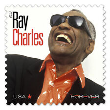 US 4807 Music Icons Ray Charles forever single MNH 2013